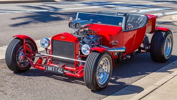 Car, Hot Rod, Custom Car, Transportation System