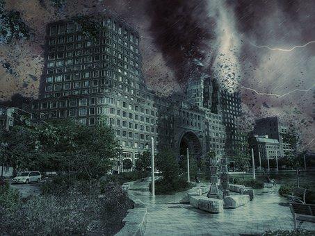 Boston, Massachusetts, Usa, Downtown, City