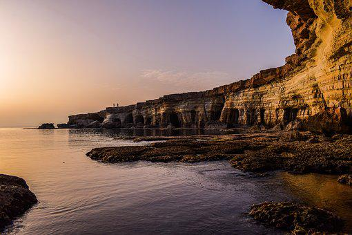 Cyprus, Cavo Greko, National Park, Sunset, Travel, Sea
