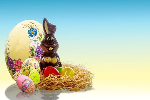 Easter, Egg, Easter Bunny, Easter Egg, Nest