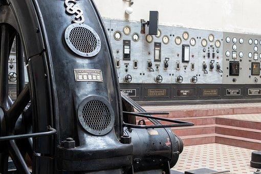 Technology, Equipment, Machine, Wheel, Old, Industry
