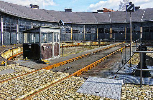 Locomotive Shed, Hub, Seemed, Historically, Turn