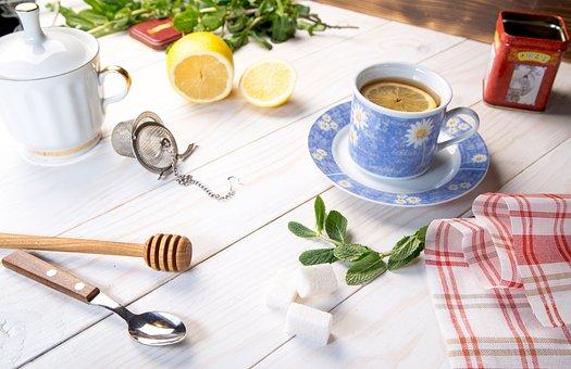 Cup, Table, Drink, Food, Spoon, Tea, Hot