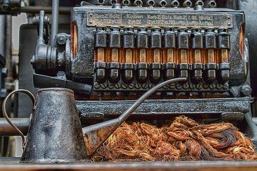 Industry, Old, Technology, Equipment, Machine, Wheel