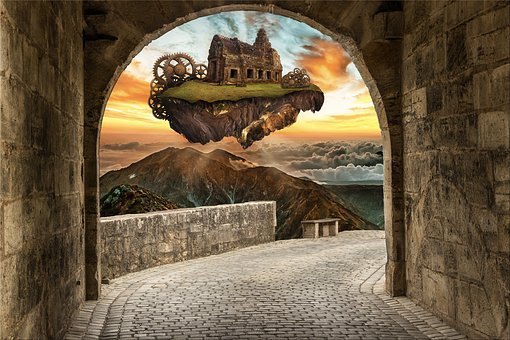 Architecture, Travel, No One, Fantasy, Story, Magic