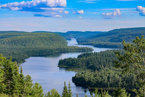 Waters, Nature, Lake, Sky, Landscape, River, Forest
