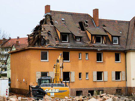 Architecture, Building, Home, Crash, Old, Renewal