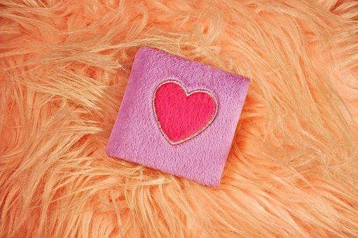 Book, Diary, Fluffy Book, Heart, Pink Heart, Plush