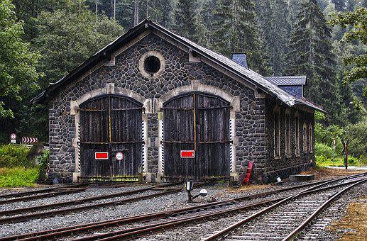 Locomotive Shed, Seemed, Historically, Railway Station