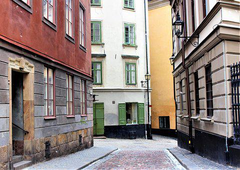 Street, Architecture, Old, City, House, Facade