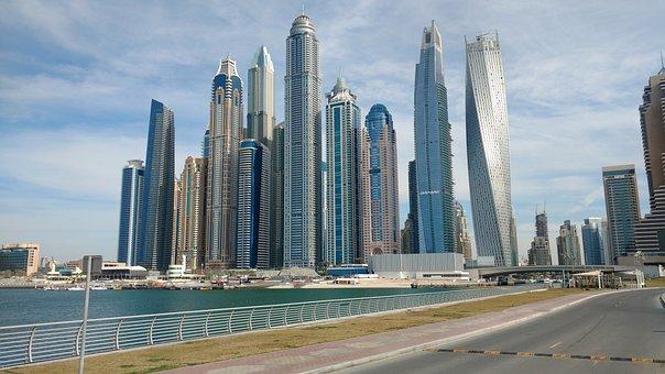 City, The Skyscraper, Architecture, Townscape, Modern