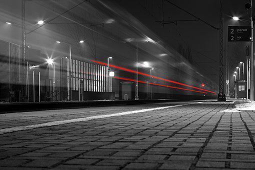 Train, Traffic, Pulse, Speed, Railway, Railway Station
