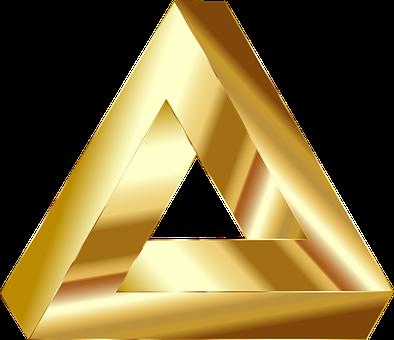 Penrose, Triangle, Optical Illusion, Abstract