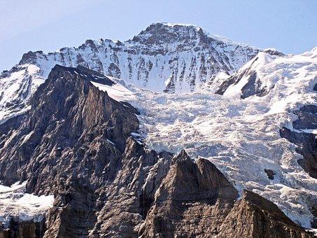 Virgin, Summit, Great, Four Thousands, Snow, Mountain
