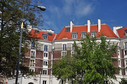 Poland, Warsaw, Kamienica, Architecture, Building