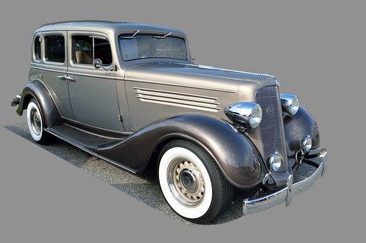 Vintage Car, Retro, Classic, Old, Automobile, Auto