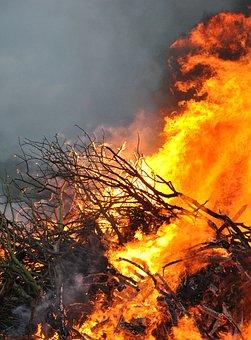 Fire, Flame, Bonfire, Wood, Burning, Flammable