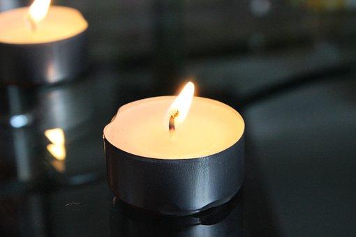 Candles, Lights, Burn, Romantic, Atmospheric
