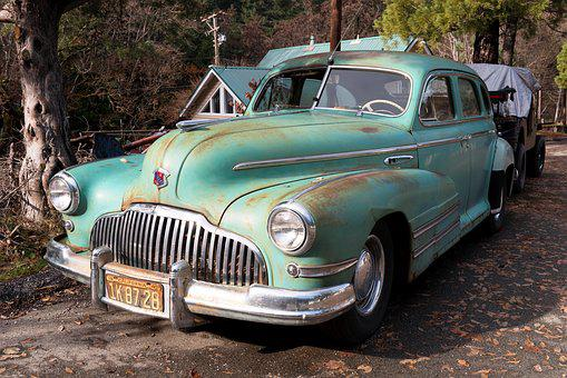 Chrysler, Us Car, Crom, Pkw, Classic, Old, Cars