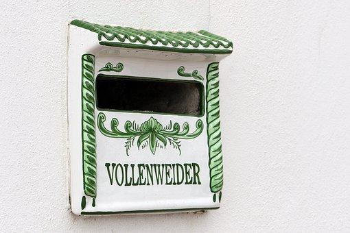 Mailbox, Letters, Regional, Ceramics, Canary Islands