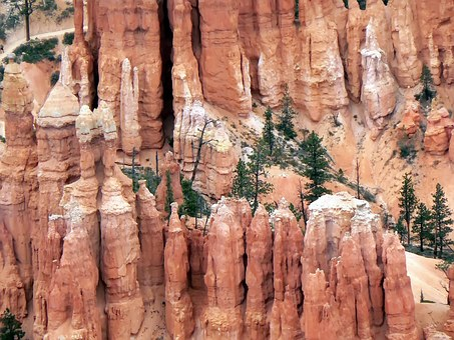 Usa, Cliff, Bryce Canyon, Hoodoos, Erosion