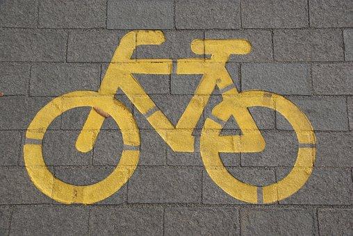 Bike, Traffic, Bike Lane, Bicycle, Cycling, Cyclist