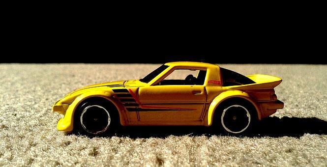 Mazda, Hot Wheels, Diecast, Import, Tuner, Rx-7