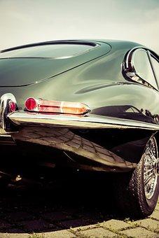 Jaguar, E Type, Oldtimer, Classic, Old, Luxury