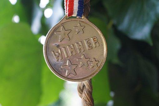 Winner, Gold, Profit, Award, Success, First