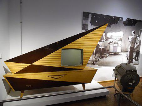 Tv, Rarity, Old Tv, Furniture, Museum, Of Technology