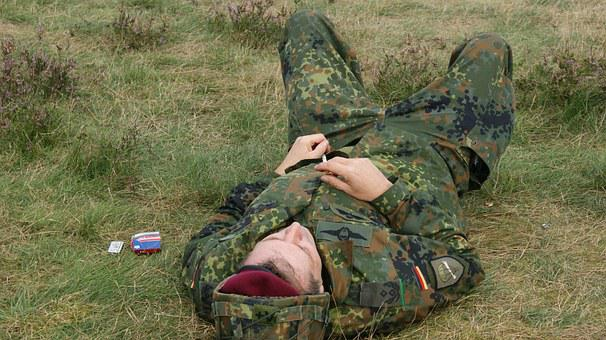 Tired, German Soldier, Are, Body Kits, Commemoration