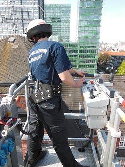 Technology, Fire, Turntable Ladder, Hamburg, Fire Truck