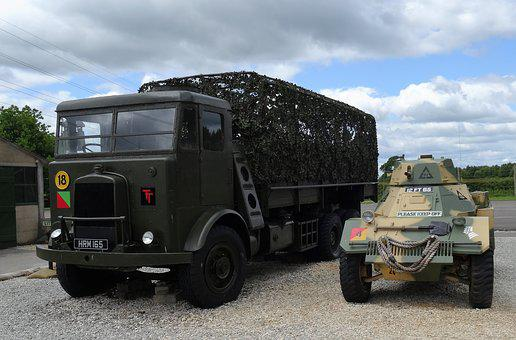 Army Lorry, Armoured Car, Truck, Army, Car, Heavy