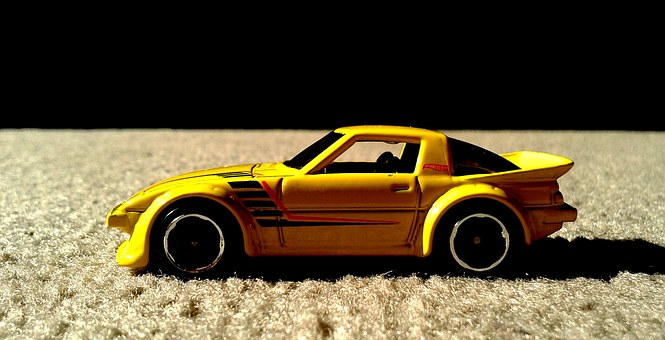 Mazda, Hot Wheels, Diecast, Import, Tuner, Rx-7