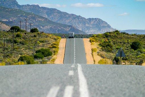 Garden Route, Asphalt, Road, Nowhere, Journey, Trip
