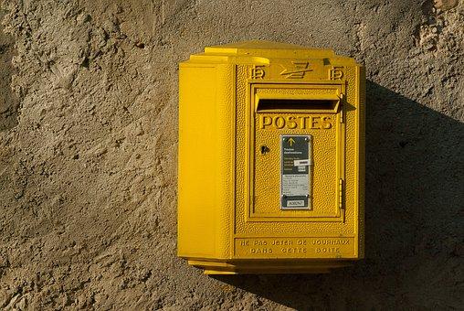 France, Lala, Mail, Mailbox, Post