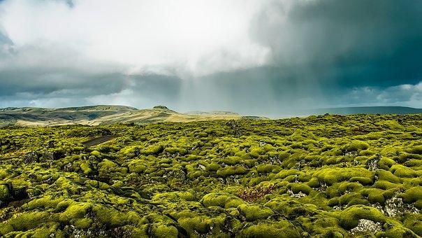Iceland, Landscape, Scenic, Destinations, Sky, Clouds