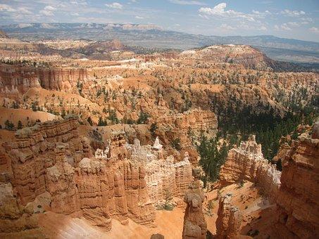 Bryce Canyon, National Park, Landscape, Hoodoo, Utah