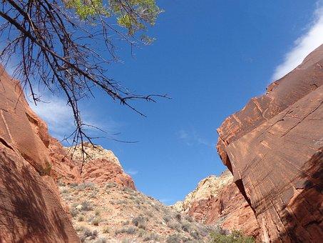 Red Rocks, Canyon, Calico Basin, Mountains, Las Vegas