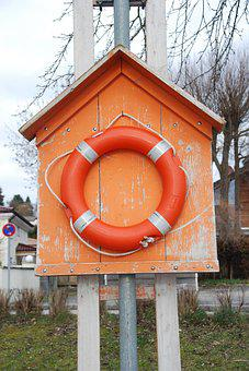 Lifebelt, Water Rescue, Life Belt, Coast Guard