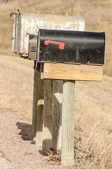 Mailboxes, Mailbox, Mail, Box, Rural Mail, Mail Route