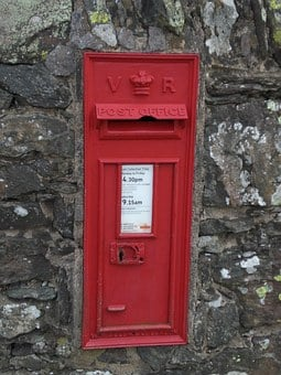 Postbox, Stone, Wall, Box, Post, Mailbox, Letter, Mail