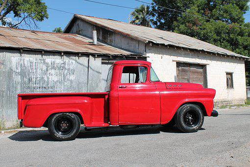 Truck, Oldie, Classic, Vehicle, Metal, Transportation