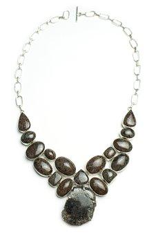 Brown, Jasper, Necklace Natural, Gemstones, Gems