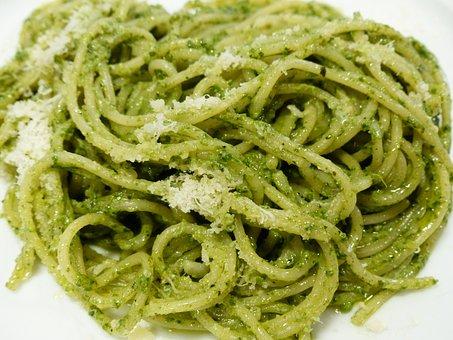 Spaghetti, Noodles, Eat, Parmesan, Cheese