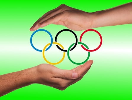 Hands, Protection, Olympic Rings, Olympiad