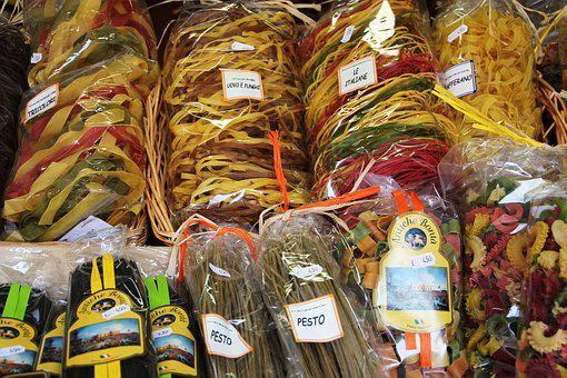 Pesto, Gift, Handmade, Eat, Noodles, Packed, Spagetti