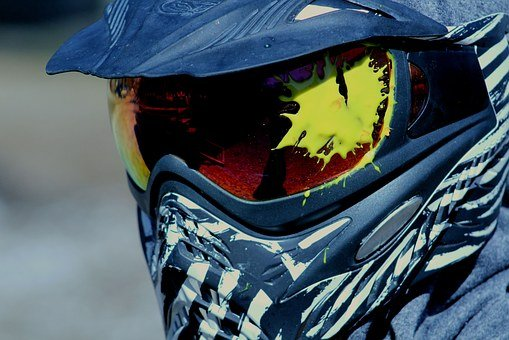 Paintball, Sport, Equipment, Mask, Paint, Protection