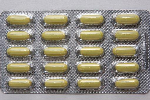 Tablets, Pills, Fund, Structure, Medicine, Blister