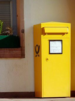 Mailbox, Post, Letter Boxes, Letter Box, Postbox